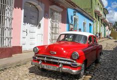 Véhicule classique au Cuba Images stock