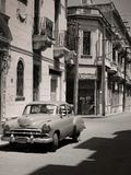 Véhicule cubain de cru Photos libres de droits