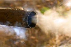 Véhicule d'échappement de pipe Image libre de droits