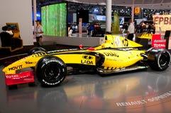 Véhicule d'équipe de Renault F1 Photos stock