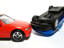 véhicule d'accidents Photos stock