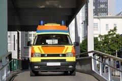 Véhicule d'Amulance Image libre de droits