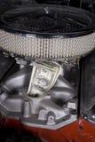 Véhicule d'argent Photo stock