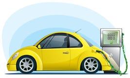 Véhicule d'Eco sur la bio essence Images stock