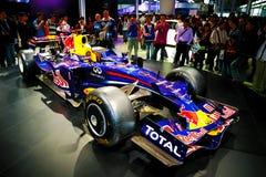 Véhicule d'emballage d'Infiniti F1 Photos libres de droits