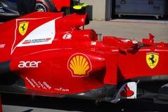 Véhicule d'emballage de Ferrari dans 2012 F1 Prix grand canadien Photos stock