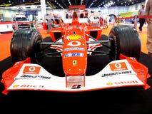 Véhicule d'emballage de Ferrari F1 Images libres de droits