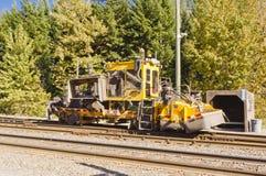 Véhicule d'entretien ferroviaire Photographie stock libre de droits