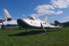 Véhicule d'essai de l'espace MiG-105 Photo stock
