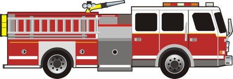 Véhicule d'incendie Photo stock