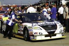 Véhicule de #00 de David Reutimann de gestionnaire de NASCAR Images libres de droits
