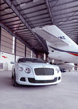 Véhicule de Bentley Image stock