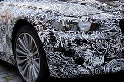 Véhicule de BMW de prototype près de Munich photos libres de droits
