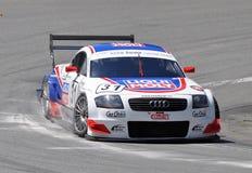 Véhicule de chemin Audi TT-R DTM Images libres de droits