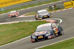 Véhicule de chemin d'Audi A4 DTM Images libres de droits