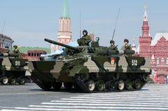 Véhicule de combat amphibie de l'infanterie BMP-3 Images libres de droits