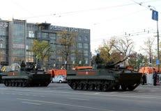 Véhicule de combat d'infanterie BMP-3 Photos stock