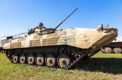Véhicule de combat d'infanterie BMP-2 dans le musée technique de Togliatti Photos libres de droits