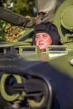 Véhicule de combat d'infanterie des forces armées serbes Photos libres de droits