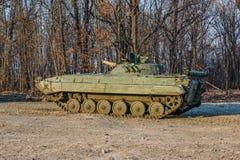 Véhicule de combat russe d'infanterie BMP-2 Photographie stock libre de droits