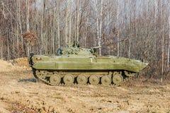 Véhicule de combat russe d'infanterie BMP-2 Image libre de droits