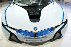 Véhicule de concept d'EfficientDynamics de visibilité de BMW Photos libres de droits