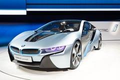 Véhicule de concept de BMW i8 Images libres de droits