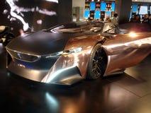 Véhicule de concept de Peugeot Images libres de droits