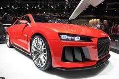 Véhicule de concept de quattro d'Audi Photographie stock