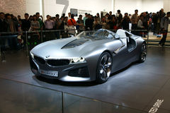 Véhicule de concept neuf de BMW image stock