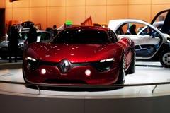 Véhicule de concept Renault Dezir au salon d'automobile de Bruxelles Image stock