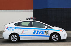 Véhicule de contrôle de la circulation de NYPD à Brooklyn, NY Photo stock