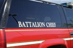 Véhicule de corps de sapeurs-pompiers photos stock