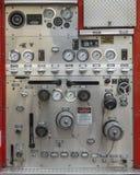 Véhicule de corps de sapeurs-pompiers de détail photographie stock