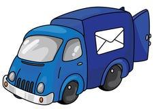 Véhicule de courrier Photo stock