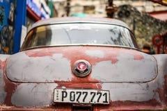 Véhicule de cru à La Havane Image libre de droits