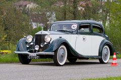 Véhicule de cru Rolls Royce 25/30 de 1936 Images libres de droits