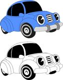 Véhicule de dessin animé illustration libre de droits
