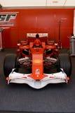 Véhicule de Ferrari f60 f1 Photographie stock libre de droits