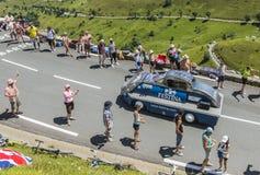 Véhicule de Festina - Tour de France 2014 Photos libres de droits