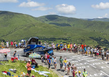 Véhicule de Festina - Tour de France 2014 Photos stock