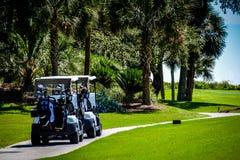 Véhicule de golf photographie stock libre de droits