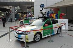 Véhicule de Google Maps à Bangkok Image libre de droits