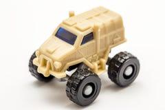 Véhicule de jouet d'armée Image stock