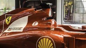 Véhicule de la formule 1 de Ferrari Images stock