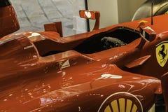 Véhicule de la formule 1 de Ferrari Photos libres de droits