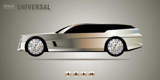 Véhicule de luxe illustration de vecteur