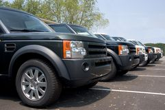 Véhicule de luxe de SUV Photos libres de droits