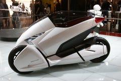 Véhicule de moto de concept de Honda 3RC Image libre de droits