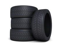 Véhicule de pneu Images libres de droits